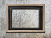 Frame on wall — Stockfoto