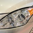 Car headlight — Stock Photo #9894823
