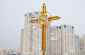 Orthodox cross — Stock Photo