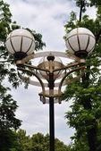 ランプの公園 — ストック写真