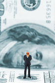 Businessman thinking — Stock Photo