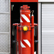 Fire truck detail - Stock Photo