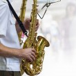 Saxophone concert — Stock Photo #9564675