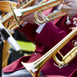 Stock Photo: Trumpeters