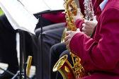 Saxophone Concert — Stock Photo