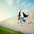 Jumping man — Stock Photo #8703364