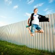 Jumping man — Stock Photo #8759887