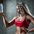 Sports nutrition — Stock Photo