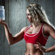 Stock Photo: Sports nutrition
