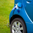 Electric car filling — Foto Stock