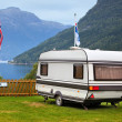 Camping in Norway — Stockfoto
