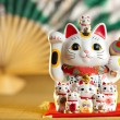 Maneki Neko cat — Stock Photo