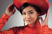 Young vietnamese woman — Stock Photo