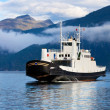Ferry in Norway — Stock Photo