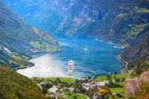 Geiranger fjord — Stock Photo