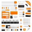 Website Graphics Set - Stock Vector