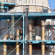 Stock Photo: Industrial power plant closeup detail