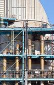 Industrial power plant closeup detail — Stock Photo