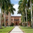 Historic mansion in Sarasota - Stock Photo