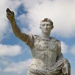 Roman Emperor Augustus Statue — Stock Photo