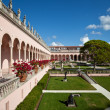 Wealthy estate of Ringling Museum view — Stock Photo