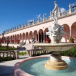Stock Photo: Wealthy estate of Ringling Museum view