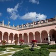 Wealthy estate of Ringling Museum view - Stock Photo
