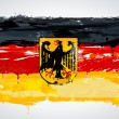 Grunge Germany national flag - Stock Vector
