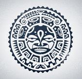 Polinezya dövme — Stok Vektör