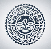 Polynesian tattoo — Stock vektor