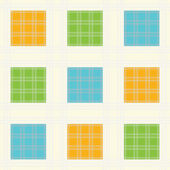 Seamless squares background — Stock Vector