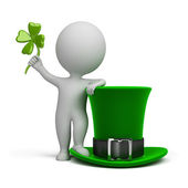 3d small - hat of Saint Patrick — Stock Photo