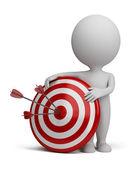 3d små - mål — Stockfoto