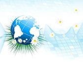 Environmental vector background — Stock Vector