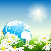 Koncepce životního prostředí vektor. — Stock vektor