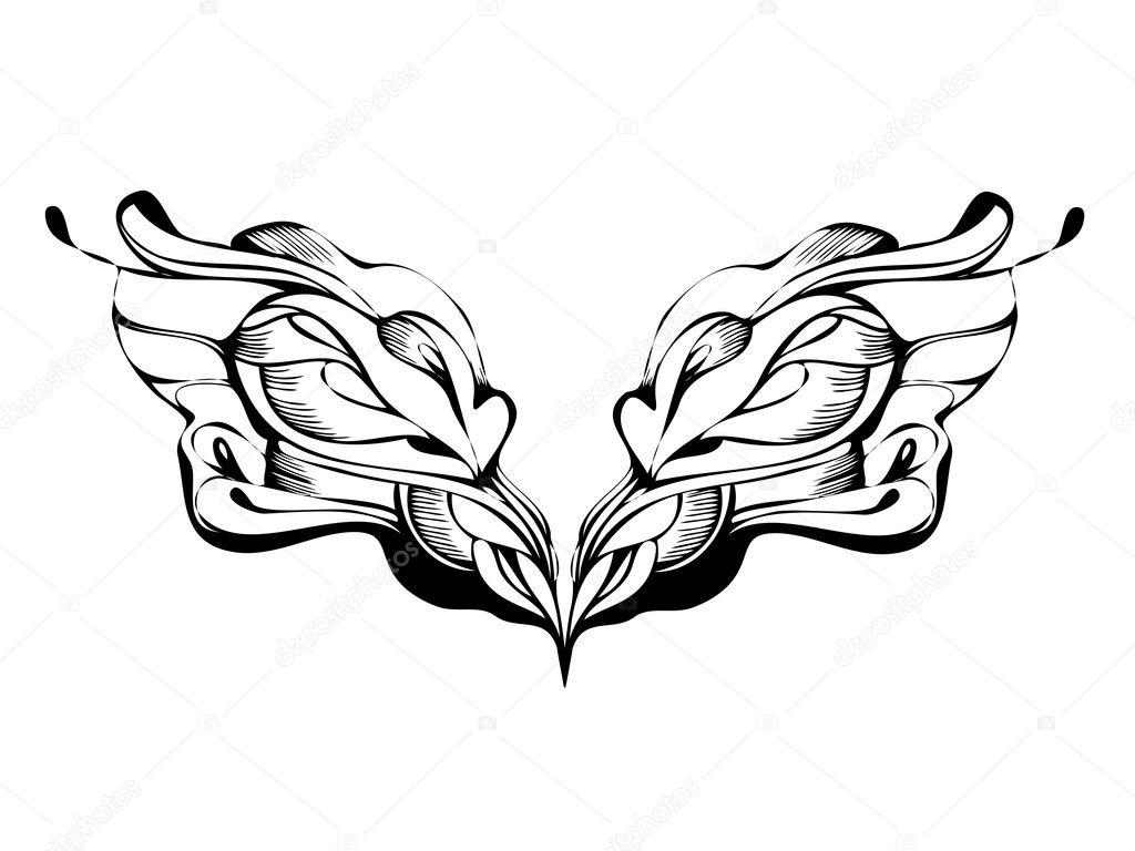 Abstrait design graphique en noir et blanc image for Dessin graphique noir et blanc