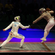 Italy-USA match at 2012 World Fencing Championships — Stock Photo #10106039
