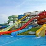 Aquapark slides — Stock Photo #10306242
