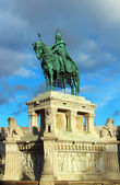 Stephen I monument, Budapest, Hungary — Stock Photo