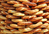 Turkish simit — Stock Photo