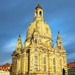 Frauenkirche in Dresden, Germany — Stockfoto