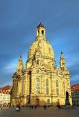 Frauenkirche in Dresden, Germany — Stock Photo