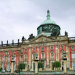 New Palace in Sanssouci, Potsdam - Stock Photo