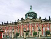 Nowy pałac w sanssouci, potsdam — Zdjęcie stockowe