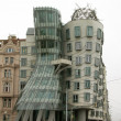 Stock Photo: Dancing House, Prague, Czech Republic