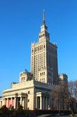 宫殿的文化和科学,华沙 — 图库照片