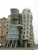 Dancing house, prague, République tchèque — Photo