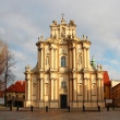Church of St. Joseph in Warsaw - Stock Photo