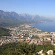 Aerial view of Kemer, Turkey - Stock Photo