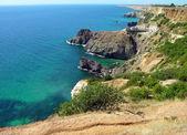 Côte de la mer noire en crimée, ukraine — Photo